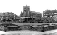 Hartlepool, the Church and Gardens c1965