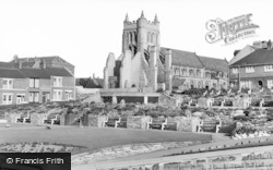 Hartlepool, St Hilda's Church c.1955