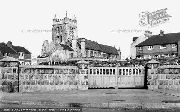 Photo of Hartlepool, St Hilda's Church c1958, ref. h32082