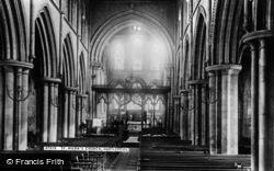 Hartlepool, St Hilda's Church Interior 1896
