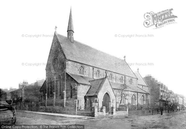 Photo of Hartlepool, St James' Church 1886, ref. 18855