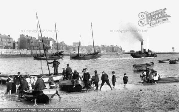 Hartlepool, the Beach 1903