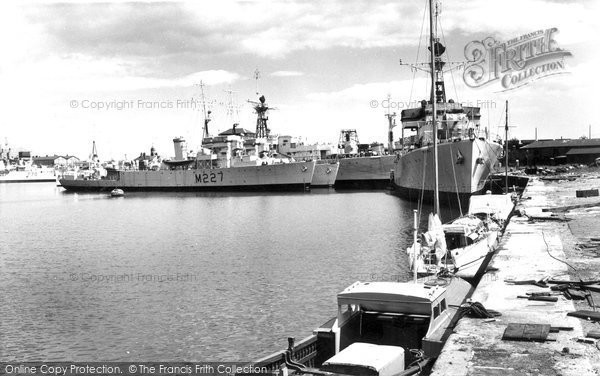 Photo of Hartlepool, the Docks c1960, ref. h32042