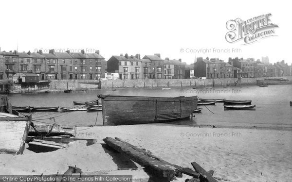 Photo of Hartlepool, the Ferry 1896, ref. 37503