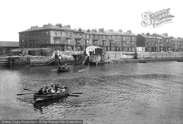 Hartlepool, the Ferry 1914