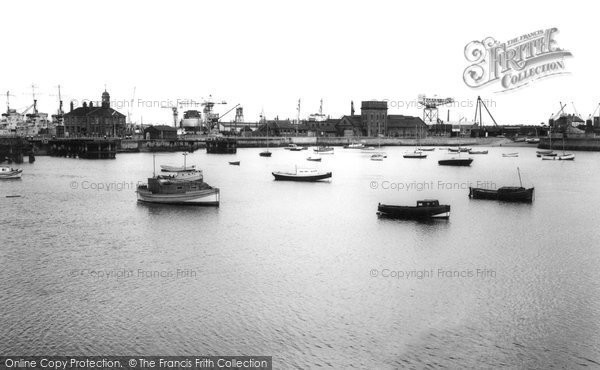 Photo of Hartlepool, the Harbour c1960, ref. h32038