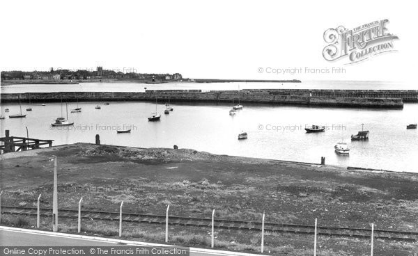 Photo of Hartlepool, the Harbour c1960, ref. h32041