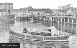 Hartlepool, The Lifeboat c.1955