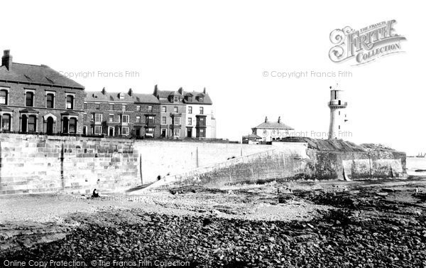 Photo of Hartlepool, the Lighthouse 1892, ref. 30767
