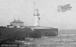 Hartlepool, The Lighthouse 1899
