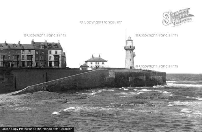 Photo of Hartlepool, The Lighthouse From The Pier 1896
