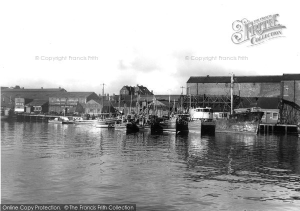 Photo of Hartlepool, the Wood Quay c1955, ref. h32313