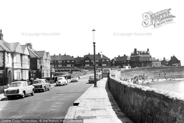 Photo of Hartlepool, Town Wall Road c.1960