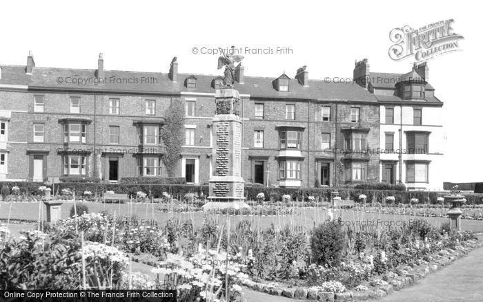 Photo of Hartlepool, War Memorial c1955, ref. h32321
