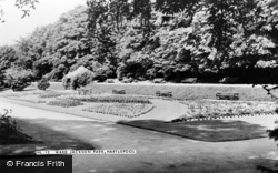 Hartlepool, Ward Jackson Park c.1955