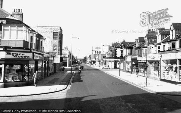 Photo of Hartlepool, York Road c1960, ref. h32073