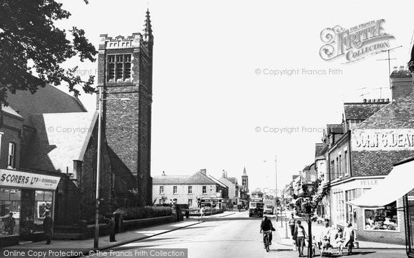 Photo of Hartlepool, York Road c1960, ref. h32069