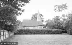 All Saints Church c.1955, Hartley