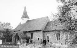 All Saints Church c.1965, Hartley