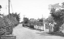 Ash Road c.1950, Hartley