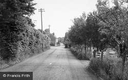 Ash Road c.1960, Hartley