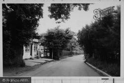 Church Road c.1955, Hartley