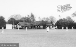 Cricket At The Country Club c.1960, Hartley