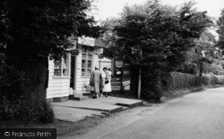 General Stores, Church Road c.1955, Hartley
