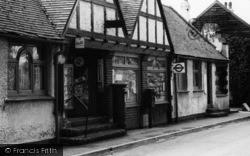 The Post Office c.1960, Hartley