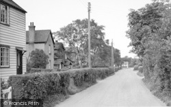 The Village, From The Post Office c.1950, Hartley