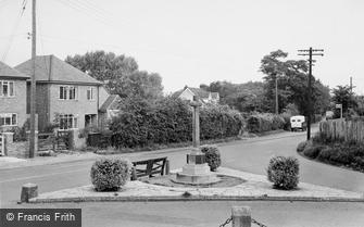 Hartley, the War Memorial c1955