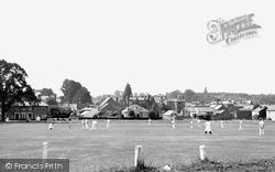 Hartley Wintney, Cricket Green c.1955