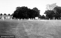 Cricket Green c.1960, Hartley Wintney