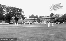 Hartley Wintney, Cricket Green c.1960