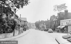 Hartley Wintney, High Street c.1955