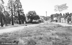 Hartley Wintney, High Street From Hunts Common c.1960