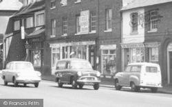 Hartley Wintney, High Street, Shops c.1965