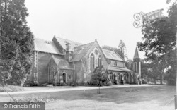 St John's Church c.1960, Hartley Wintney