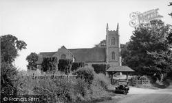 Hartley Wintney, St Mary's Church c.1955