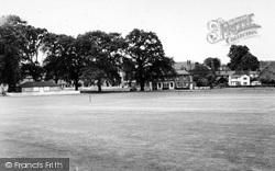Hartley Wintney, The Cricket Field c.1960