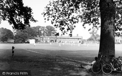 Hartley Wintney, The Cricket Green c.1955