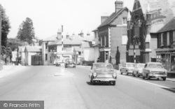 Hartley Wintney, Traffic In The High Street c.1965