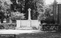 War Memorial c.1965, Hartley Wintney