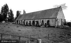 Hartpury, St Mary's Church And The Tithe Barn c.1960
