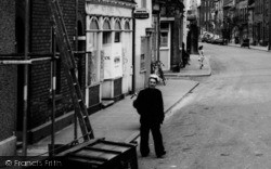 Harwich, A Sailor In West Street c.1960