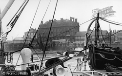 Harwich, The Quayside c.1954