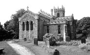 Harworth, All Saints Church c1955