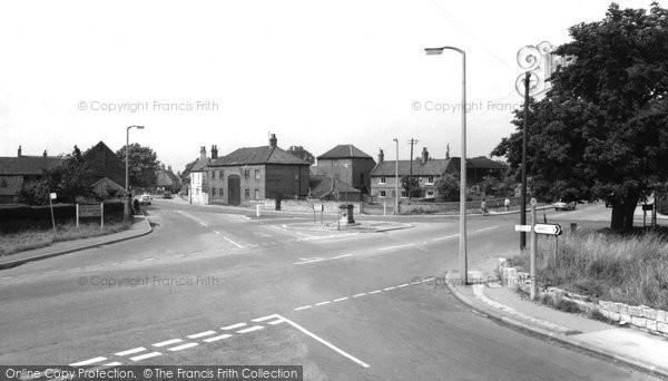 Photo of Harworth, the Cross Roads c1965