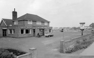 Harworth, The Game Cock, Bawtry Road c1955