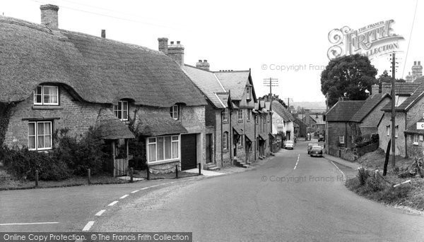 Haselbury Plucknett, c1960